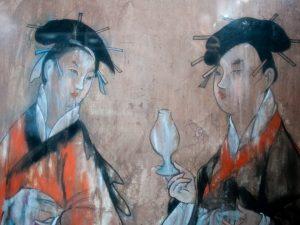 Kinesisk maleri i tidlig tid